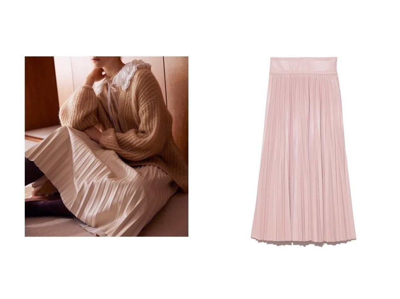 【CELFORD/セルフォード】のフェイクレザープリーツスカート 【スカート】おすすめ!人気、トレンド・レディースファッションの通販 おすすめで人気の流行・トレンド、ファッションの通販商品 インテリア・家具・メンズファッション・キッズファッション・レディースファッション・服の通販 founy(ファニー) https://founy.com/ ファッション Fashion レディースファッション WOMEN スカート Skirt プリーツスカート Pleated Skirts クラシック コルセット スマート トレンド フェイクレザー プリーツ  ID:crp329100000068572