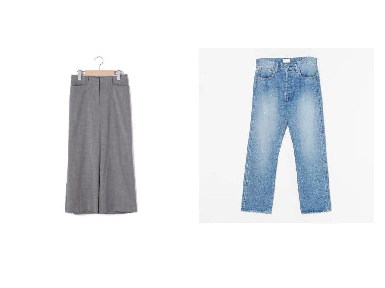 【SACRA/サクラ】のOLD SCHOOL DENIM&【KEITH/キース】のTWポプリン パンツ 【パンツ】おすすめ!人気、トレンド・レディースファッションの通販 おすすめで人気の流行・トレンド、ファッションの通販商品 インテリア・家具・メンズファッション・キッズファッション・レディースファッション・服の通販 founy(ファニー) https://founy.com/ ファッション Fashion レディースファッション WOMEN パンツ Pants シンプル ベーシック ポケット ワイド |ID:crp329100000068999
