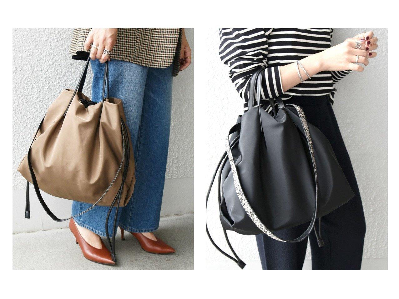 【SHIPS any/シップス エニィ】のSHIPS any マルチ 2WAY トートバッグ 【バッグ・鞄】おすすめ!人気、トレンド・レディースファッションの通販 おすすめで人気の流行・トレンド、ファッションの通販商品 インテリア・家具・メンズファッション・キッズファッション・レディースファッション・服の通販 founy(ファニー) https://founy.com/ ファッション Fashion レディースファッション WOMEN バッグ Bag おすすめ Recommend ショルダー シンプル パイソン ヨガ 巾着 |ID:crp329100000069030