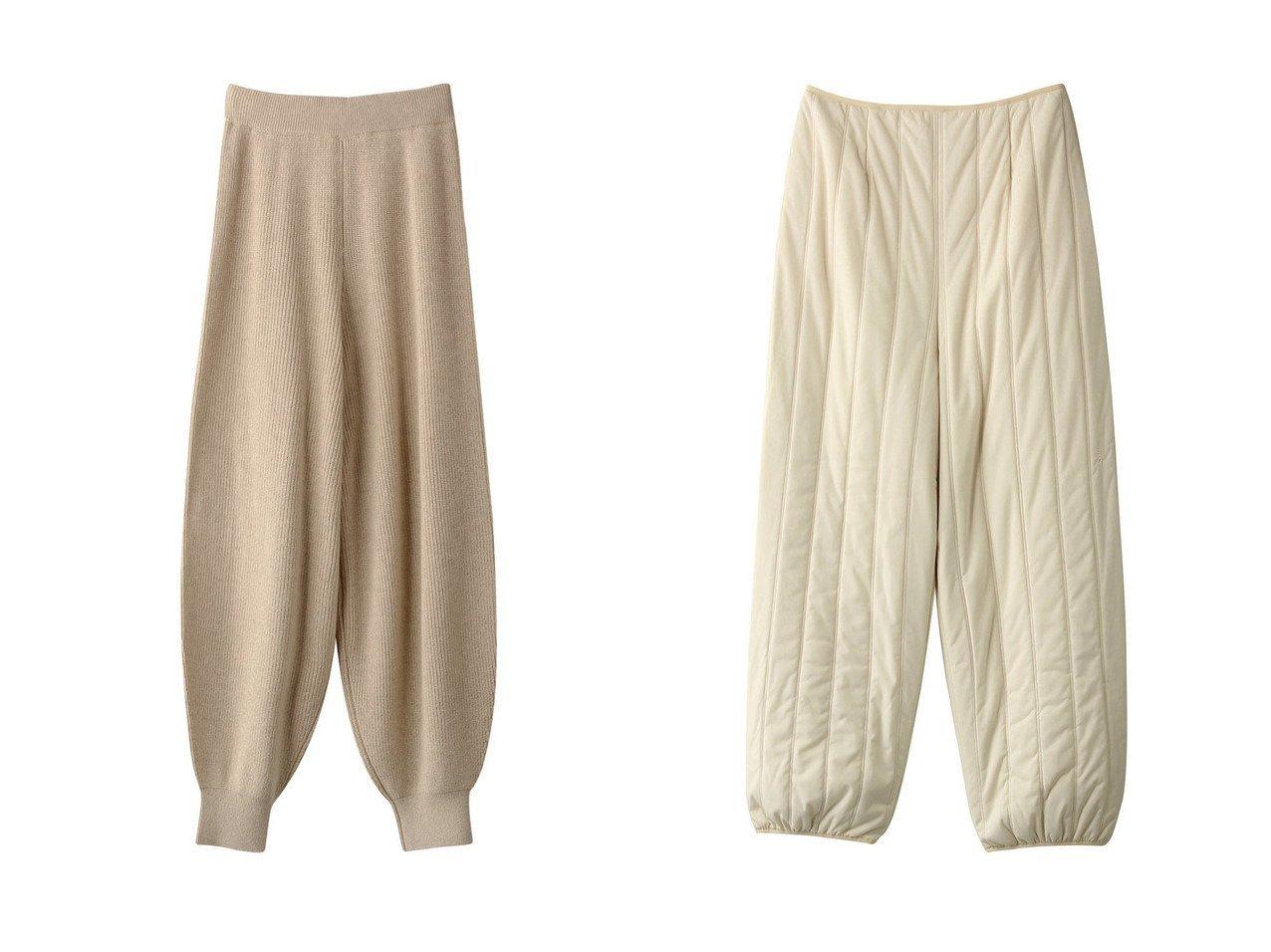 【nagonstans/ナゴンスタンス】のSUPERB RIBバルーンパンツ&Light Quilting コクーンパンツ 【パンツ】おすすめ!人気、トレンド・レディースファッションの通販 おすすめで人気の流行・トレンド、ファッションの通販商品 インテリア・家具・メンズファッション・キッズファッション・レディースファッション・服の通販 founy(ファニー) https://founy.com/ ファッション Fashion レディースファッション WOMEN パンツ Pants おすすめ Recommend セットアップ バルーン アウトドア キルティング コーティング ストライプ ストレッチ |ID:crp329100000069119