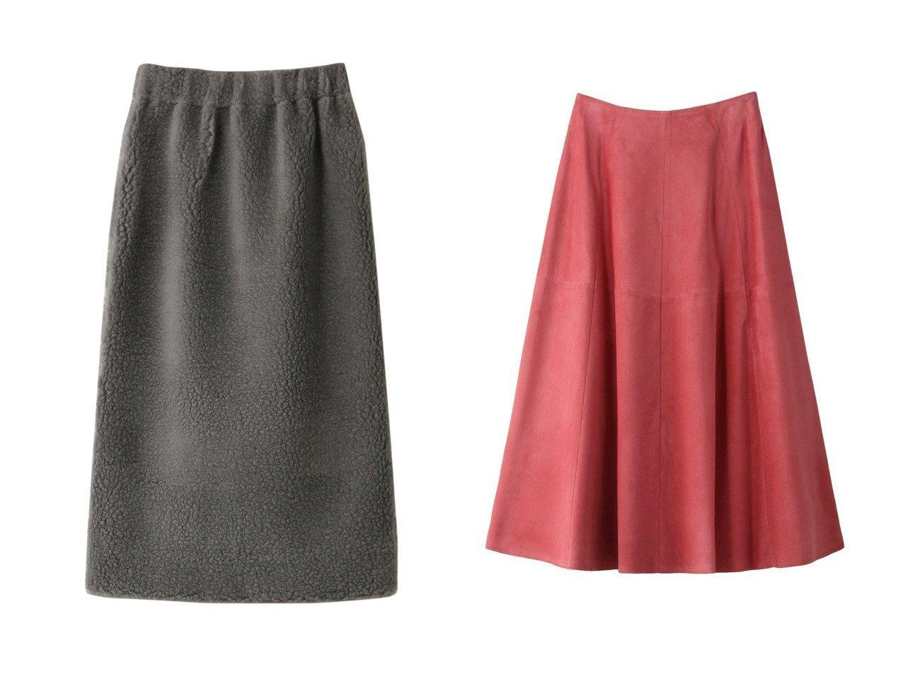 【BLUEBIRD BOULEVARD/ブルーバード ブルバード】のオージーウールボアタイトスカート&ピッグスウェードサーキュラースカート 【スカート】おすすめ!人気、トレンド・レディースファッションの通販 おすすめで人気の流行・トレンド、ファッションの通販商品 インテリア・家具・メンズファッション・キッズファッション・レディースファッション・服の通販 founy(ファニー) https://founy.com/ ファッション Fashion レディースファッション WOMEN スカート Skirt ロングスカート Long Skirt おすすめ Recommend コンパクト タイトスカート ロング |ID:crp329100000069141
