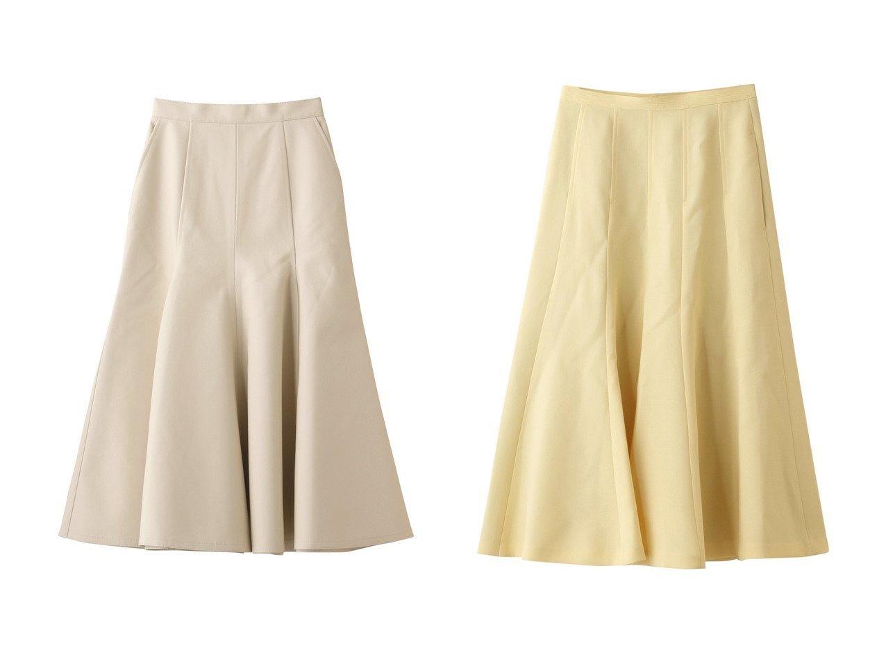 【martinique/マルティニーク】のフレアスカート&【LE CIEL BLEU/ルシェル ブルー】のフェイクレザーマーメイドスカート 【スカート】おすすめ!人気、トレンド・レディースファッションの通販 おすすめで人気の流行・トレンド、ファッションの通販商品 インテリア・家具・メンズファッション・キッズファッション・レディースファッション・服の通販 founy(ファニー) https://founy.com/ ファッション Fashion レディースファッション WOMEN スカート Skirt ロングスカート Long Skirt Aライン/フレアスカート Flared A-Line Skirts フェイクレザー マーメイド ロング |ID:crp329100000069147