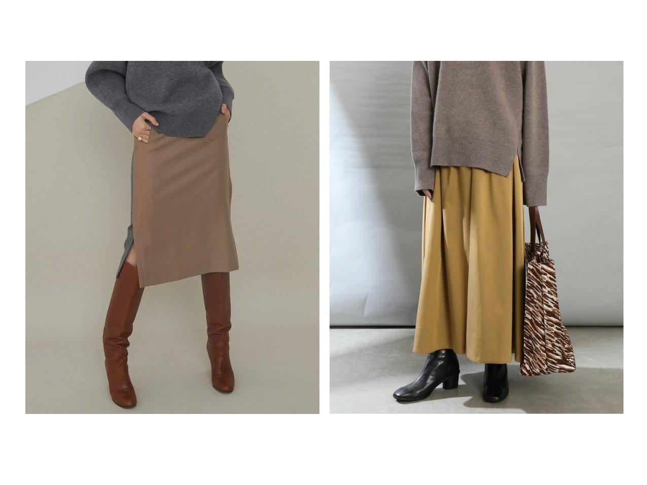 【La TOTALITE/ラ トータリテ】のダブルサテンギャザーフレアスカート&【BEIGE,/ベイジ,】のハイウエストスカート 【スカート】おすすめ!人気、トレンド・レディースファッションの通販 おすすめで人気の流行・トレンド、ファッションの通販商品 インテリア・家具・メンズファッション・キッズファッション・レディースファッション・服の通販 founy(ファニー) https://founy.com/ ファッション Fashion レディースファッション WOMEN スカート Skirt Aライン/フレアスカート Flared A-Line Skirts シンプル スタイリッシュ スリット タイトスカート フラップ ベーシック ポケット ミドル A/W・秋冬 AW・Autumn/Winter・FW・Fall-Winter 2021年 2021 2021-2022秋冬・A/W AW・Autumn/Winter・FW・Fall-Winter・2021-2022 送料無料 Free Shipping ギャザー サテン ダブル フェミニン フレア |ID:crp329100000069152