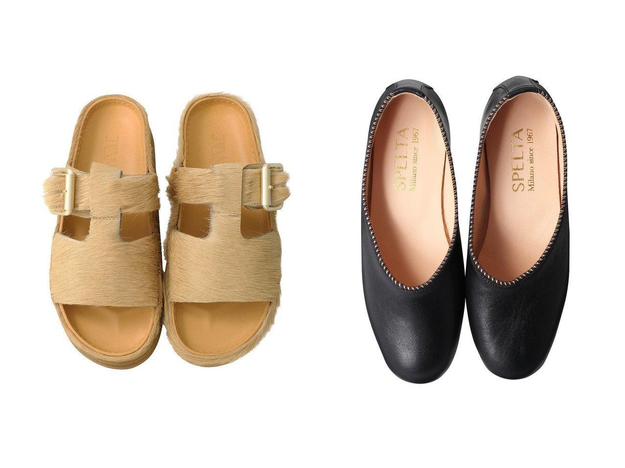【SPELTA/スペルタ】のPIPER バレエシューズ&【JVAM/ジェーヴィエーエム】のHAEM ヘアカーフサンダル 【シューズ・靴】おすすめ!人気、トレンド・レディースファッションの通販 おすすめで人気の流行・トレンド、ファッションの通販商品 インテリア・家具・メンズファッション・キッズファッション・レディースファッション・服の通販 founy(ファニー) https://founy.com/ ファッション Fashion レディースファッション WOMEN サンダル メタリック リュクス 2020年 2020 2020-2021秋冬・A/W AW・Autumn/Winter・FW・Fall-Winter/2020-2021 2021年 2021 2021-2022秋冬・A/W AW・Autumn/Winter・FW・Fall-Winter・2021-2022 A/W・秋冬 AW・Autumn/Winter・FW・Fall-Winter シューズ バレエ フラット |ID:crp329100000069188