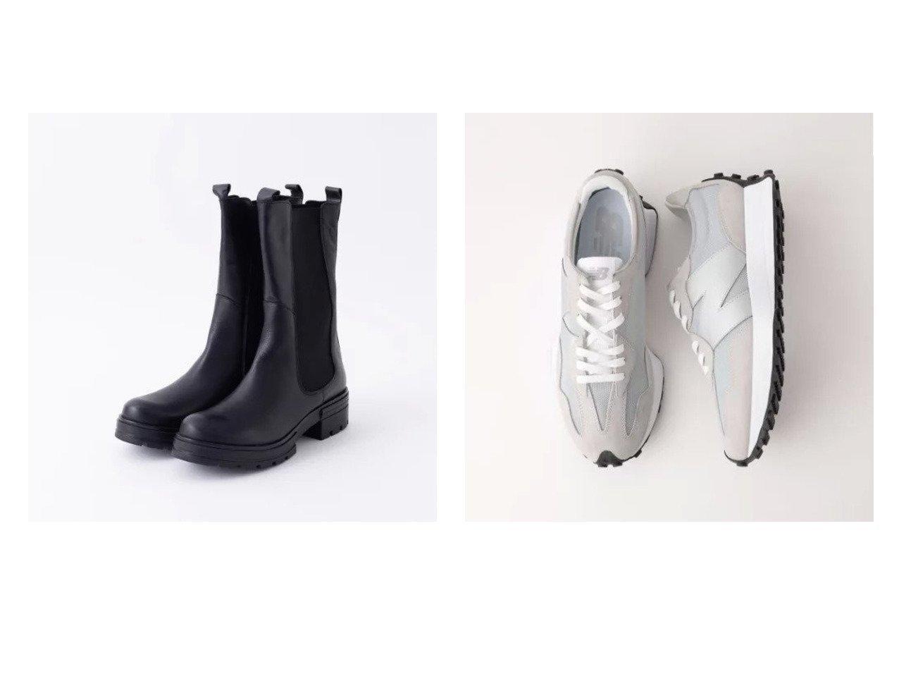 【green label relaxing / UNITED ARROWS/グリーンレーベル リラクシング / ユナイテッドアローズ】のMS327 SLD スニーカー&【Rouge vif/ルージュ ヴィフ】の【MOHI】チェルシーブーツ 【シューズ・靴】おすすめ!人気、トレンド・レディースファッションの通販 おすすめで人気の流行・トレンド、ファッションの通販商品 インテリア・家具・メンズファッション・キッズファッション・レディースファッション・服の通販 founy(ファニー) https://founy.com/ ファッション Fashion レディースファッション WOMEN おすすめ Recommend シューズ スマート トレンド フェミニン ミドル 人気 厚底 A/W・秋冬 AW・Autumn/Winter・FW・Fall-Winter スエード スニーカー バランス ビッグ フィット フォルム メッシュ |ID:crp329100000069190