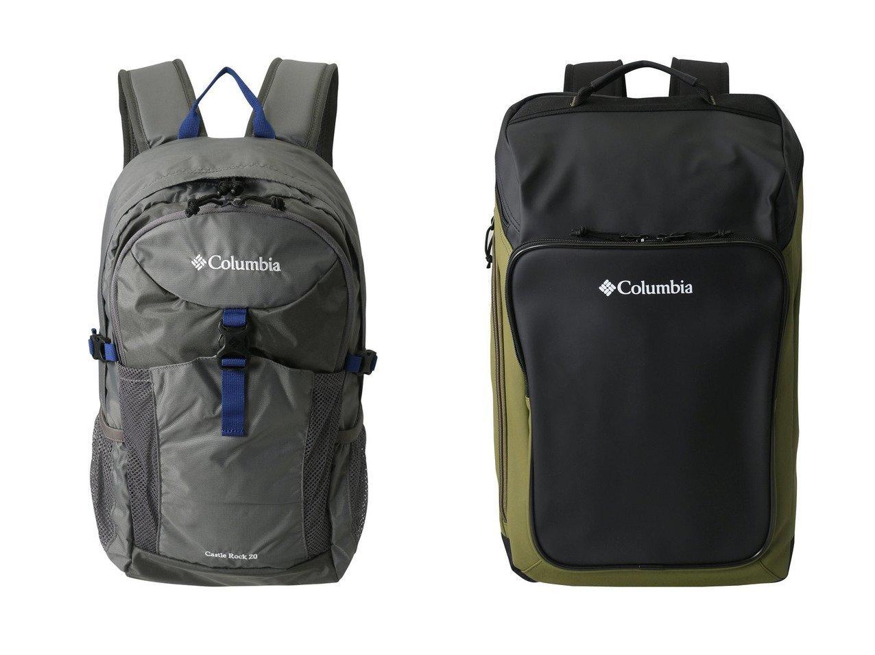 【Columbia/コロンビア】の【UNISEX】キャッスルロック20Lバックパック&【UNISEX】ブレムナースロープ30LバックパックII 【バッグ・鞄】おすすめ!人気、トレンド・レディースファッションの通販 おすすめで人気の流行・トレンド、ファッションの通販商品 インテリア・家具・メンズファッション・キッズファッション・レディースファッション・服の通販 founy(ファニー) https://founy.com/ ファッション Fashion レディースファッション WOMEN バッグ Bag スポーツウェア Sportswear スポーツ バッグ/ポーチ Bag UNISEX シンプル スポーツ ポケット |ID:crp329100000069208