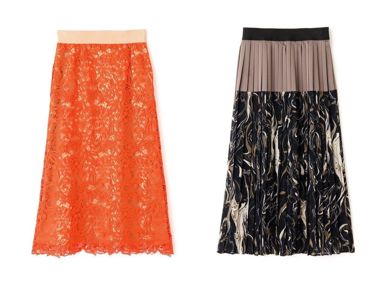 【ADORE/アドーア】のフローラルレーススカート&マーブルプリントスカート 【スカート】おすすめ!人気、トレンド・レディースファッションの通販 おすすめで人気の流行・トレンド、ファッションの通販商品 インテリア・家具・メンズファッション・キッズファッション・レディースファッション・服の通販 founy(ファニー) https://founy.com/ ファッション Fashion レディースファッション WOMEN スカート Skirt ロングスカート Long Skirt A/W・秋冬 AW・Autumn/Winter・FW・Fall-Winter オレンジ ケミカル シンプル レース ロング エレガント サテン シフォン プリント プリーツ マーブル ミドル モダン モチーフ 無地 |ID:crp329100000069605