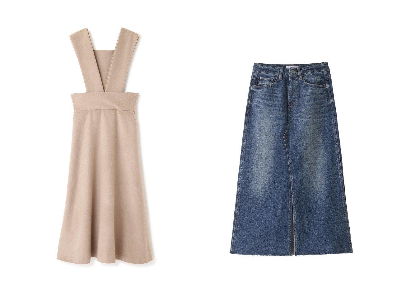 【ADORE/アドーア】の18マイクロンソフトメルトンジャンパースカート&【Healthy Denim/ヘルシーデニム】のPear リメイクスカート 【スカート】おすすめ!人気、トレンド・レディースファッションの通販 おすすめで人気の流行・トレンド、ファッションの通販商品 インテリア・家具・メンズファッション・キッズファッション・レディースファッション・服の通販 founy(ファニー) https://founy.com/ ファッション Fashion レディースファッション WOMEN スカート Skirt ロングスカート Long Skirt ショルダー ジャケット メルトン おすすめ Recommend デニム フレア ユーズド リメイク ロング |ID:crp329100000069608