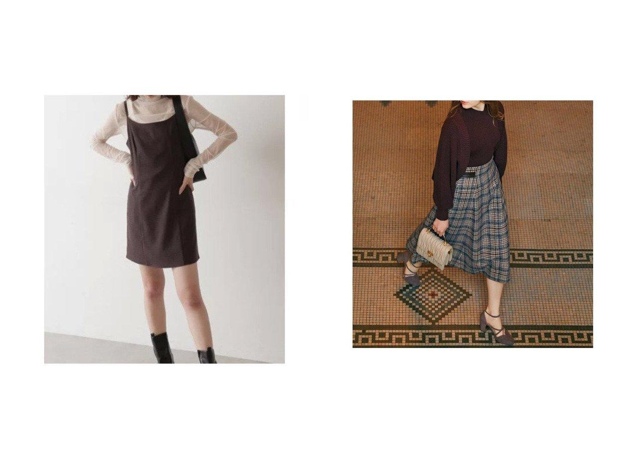 【Noela/ノエラ】の先染めチェックスカート&【FREE'S MART/フリーズマート】のチェック柄Aラインミニ丈ジャンパースカート 【スカート】おすすめ!人気、トレンド・レディースファッションの通販 おすすめで人気の流行・トレンド、ファッションの通販商品 インテリア・家具・メンズファッション・キッズファッション・レディースファッション・服の通販 founy(ファニー) https://founy.com/ ファッション Fashion レディースファッション WOMEN スカート Skirt A/W・秋冬 AW・Autumn/Winter・FW・Fall-Winter おすすめ Recommend コンパクト シンプル ジャケット セットアップ チェック トレンド フィット ラップ 今季 切替 2021年 2021 2021-2022秋冬・A/W AW・Autumn/Winter・FW・Fall-Winter・2021-2022 エレガント フレア ポケット 秋 Autumn/Fall |ID:crp329100000069611