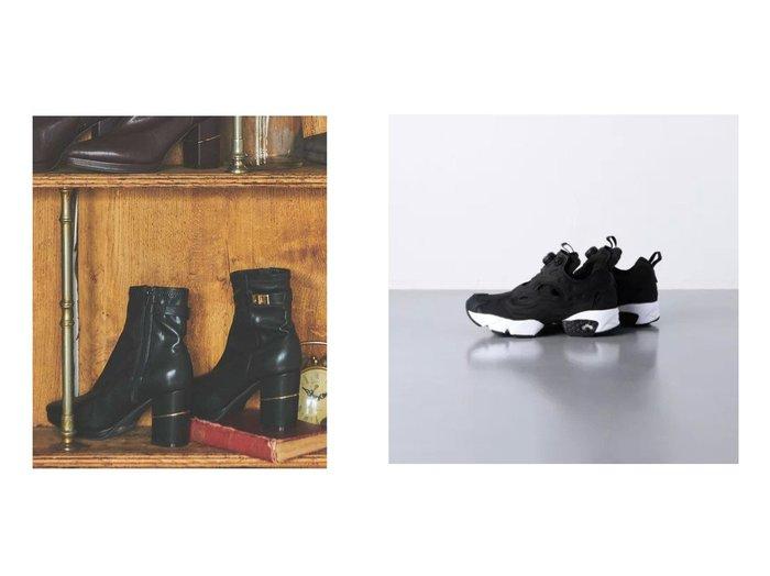 【Noela/ノエラ】のゴールドポイントショートブーツ&【UNITED ARROWS/ユナイテッドアローズ】のINSTPUMP FURY スニーカー 【シューズ・靴】おすすめ!人気、トレンド・レディースファッションの通販 おすすめ人気トレンドファッション通販アイテム 人気、トレンドファッション・服の通販 founy(ファニー) ファッション Fashion レディースファッション WOMEN シューズ スニーカー フィット モノトーン レース ショート スエード フェミニン |ID:crp329100000069630
