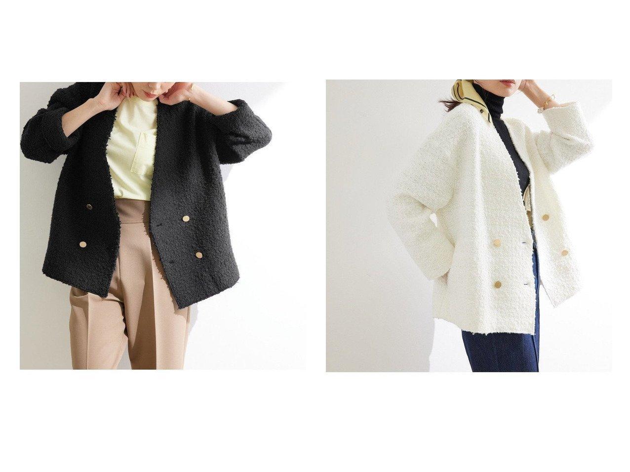 【ROPE'/ロペ】のツィードニットジャケット 【アウター】おすすめ!人気、トレンド・レディースファッションの通販 おすすめで人気の流行・トレンド、ファッションの通販商品 インテリア・家具・メンズファッション・キッズファッション・レディースファッション・服の通販 founy(ファニー) https://founy.com/ ファッション Fashion レディースファッション WOMEN アウター Coat Outerwear コート Coats ジャケット Jackets ノーカラージャケット No Collar Leather Jackets アクセサリー カーディガン ジャケット スカーフ ストレート スラックス ツィード デニム パール フォルム フレンチ ポケット モダン おすすめ Recommend |ID:crp329100000069664