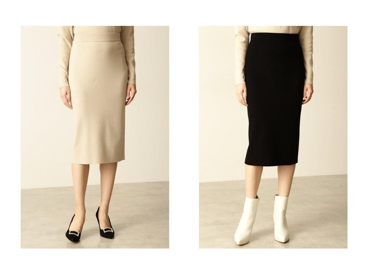 【Pinky&Dianne/ピンキーアンドダイアン】の総針ニットスカート おすすめ!人気、トレンド・レディースファッションの通販 おすすめで人気の流行・トレンド、ファッションの通販商品 インテリア・家具・メンズファッション・キッズファッション・レディースファッション・服の通販 founy(ファニー) https://founy.com/ ファッション Fashion レディースファッション WOMEN スカート Skirt ストレッチ セットアップ ドレープ |ID:crp329100000070064