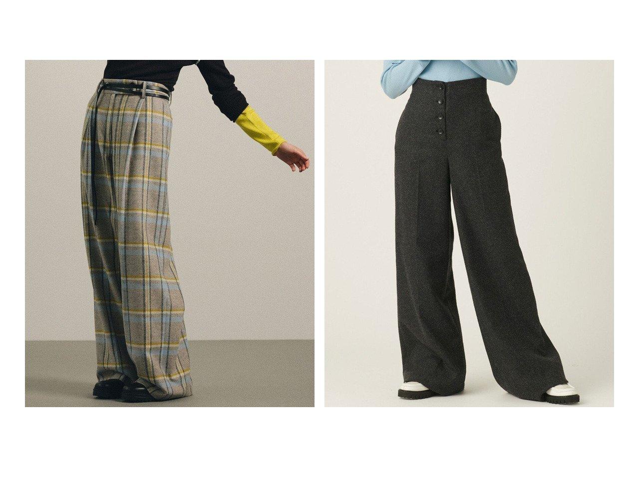 【JOSEPH STUDIO/ジョゼフ ストゥディオ】のタータンパターン ワイドパンツ&ソフトフランネル ワイドパンツ 【パンツ】おすすめ!人気、トレンド・レディースファッションの通販 おすすめで人気の流行・トレンド、ファッションの通販商品 インテリア・家具・メンズファッション・キッズファッション・レディースファッション・服の通販 founy(ファニー) https://founy.com/ ファッション Fashion レディースファッション WOMEN パンツ Pants インナー ジャケット ストレッチ スリット セットアップ セーター ダブル フィット ワイド 送料無料 Free Shipping おすすめ Recommend シンプル チェック |ID:crp329100000070077