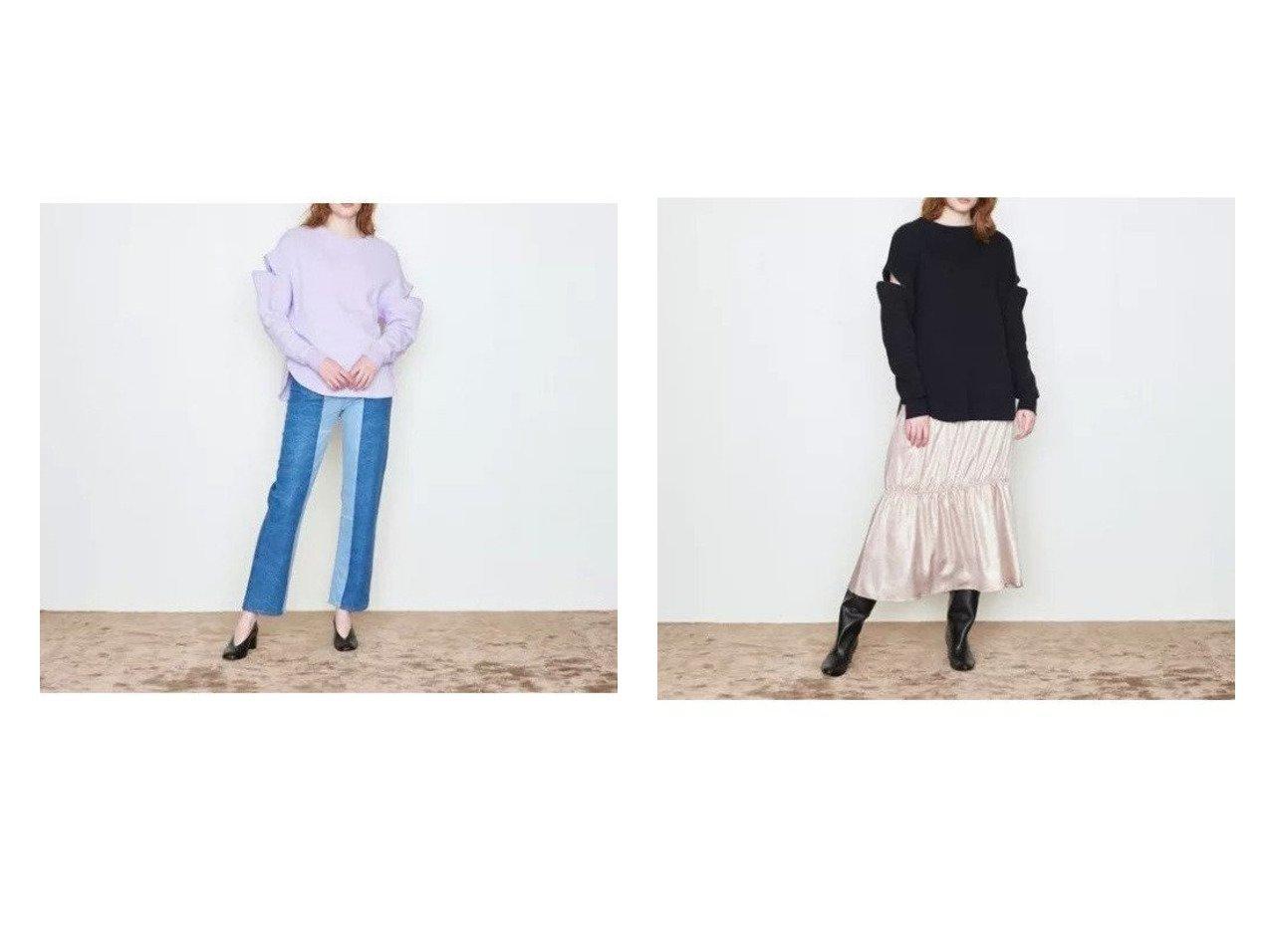 【UNITED ARROWS/ユナイテッドアローズ】のジップ クルーネック カットソー† 【スカート】おすすめ!人気、トレンド・レディースファッションの通販 おすすめで人気の流行・トレンド、ファッションの通販商品 インテリア・家具・メンズファッション・キッズファッション・レディースファッション・服の通販 founy(ファニー) https://founy.com/ ファッション Fashion レディースファッション WOMEN トップス・カットソー Tops/Tshirt シャツ/ブラウス Shirts/Blouses ロング / Tシャツ T-Shirts カットソー Cut and Sewn カットソー ジップ タイトスカート 長袖  ID:crp329100000070088