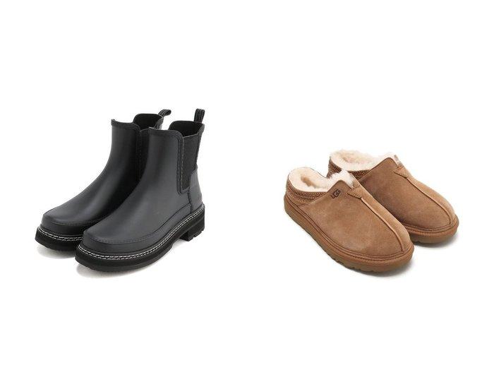 【UGG Australia/アグ】のUGG Neuman&【HUNTER/ハンター】の【レディース】リファインド スティッチ ディテール チェルシー ブーツ 【シューズ・靴】おすすめ!人気、トレンド・レディースファッションの通販 おすすめ人気トレンドファッション通販アイテム 人気、トレンドファッション・服の通販 founy(ファニー)  ファッション Fashion レディースファッション WOMEN クッション シューズ ジーンズ スウェット スエード スニーカー スリッポン ライニング スタイリッシュ スリム フィット ラバー NEW・新作・新着・新入荷 New Arrivals  ID:crp329100000070102