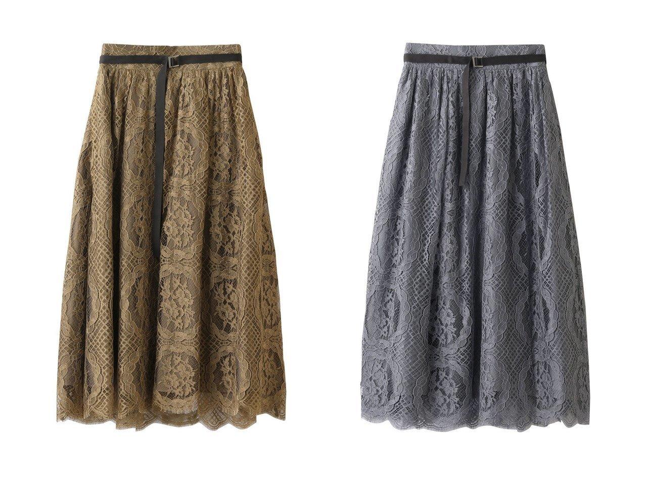 【ebure/エブール】のサークルフラワーレース ギャザースカート 【スカート】おすすめ!人気、トレンド・レディースファッションの通販 おすすめで人気の流行・トレンド、ファッションの通販商品 インテリア・家具・メンズファッション・キッズファッション・レディースファッション・服の通販 founy(ファニー) https://founy.com/ ファッション Fashion レディースファッション WOMEN スカート Skirt ギャザー サークル フラワー フランス レース |ID:crp329100000070202