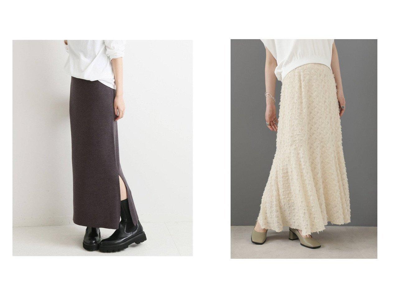 【ROSE BUD/ローズバッド】のカットジャカードマーメイドスカート&【IENA/イエナ】のWool三ツ杢スカート 【スカート】おすすめ!人気、トレンド・レディースファッションの通販 おすすめで人気の流行・トレンド、ファッションの通販商品 インテリア・家具・メンズファッション・キッズファッション・レディースファッション・服の通販 founy(ファニー) https://founy.com/ ファッション Fashion レディースファッション WOMEN スカート Skirt ロングスカート Long Skirt ジャカード フレア ベーシック 夏 Summer |ID:crp329100000070211