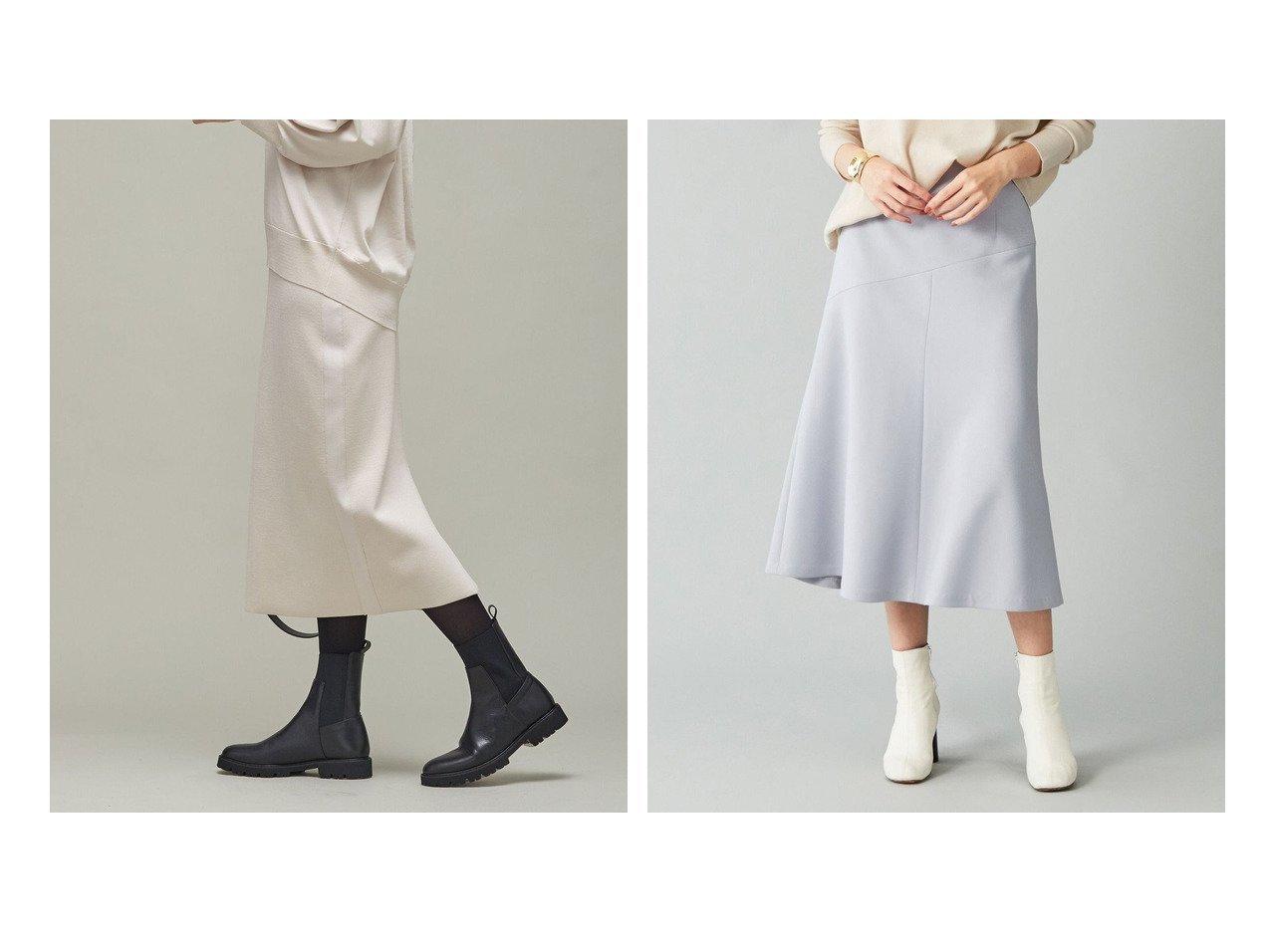 【iCB/アイシービー】のSyntheticYarnスムース ニットスカート&【BEIGE,/ベイジ,】のマーメードスカート 【スカート】おすすめ!人気、トレンド・レディースファッションの通販 おすすめで人気の流行・トレンド、ファッションの通販商品 インテリア・家具・メンズファッション・キッズファッション・レディースファッション・服の通販 founy(ファニー) https://founy.com/ ファッション Fashion レディースファッション WOMEN スカート Skirt エレガント コンパクト シンプル ストレッチ ダウン パーカー フォルム フレア マーメイド ミモレ ヨーク A/W・秋冬 AW・Autumn/Winter・FW・Fall-Winter 2021年 2021 2021-2022秋冬・A/W AW・Autumn/Winter・FW・Fall-Winter・2021-2022 送料無料 Free Shipping 軽量 ジャケット セットアップ おすすめ Recommend |ID:crp329100000070213