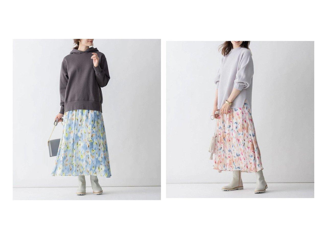 【JIYU-KU/自由区】の【Sサイズ有】エリカフラワープリント スカート 【スカート】おすすめ!人気、トレンド・レディースファッションの通販 おすすめで人気の流行・トレンド、ファッションの通販商品 インテリア・家具・メンズファッション・キッズファッション・レディースファッション・服の通販 founy(ファニー) https://founy.com/ ファッション Fashion レディースファッション WOMEN スカート Skirt イタリア コレクション バランス プリント リラックス ロング 送料無料 Free Shipping |ID:crp329100000070214