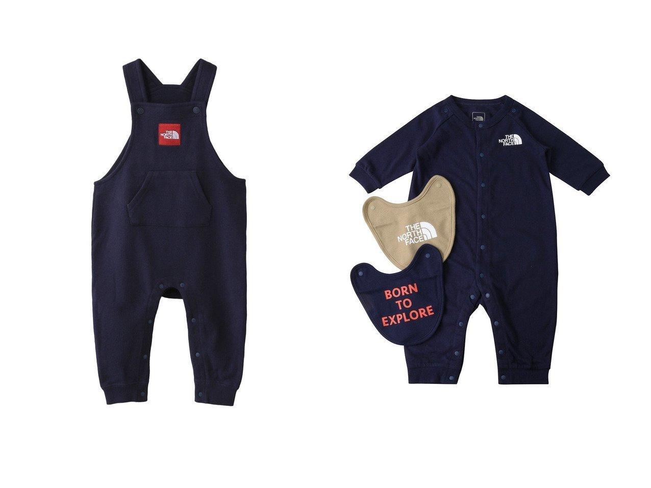 【THE NORTH FACE / KIDS/ザ ノース フェイス】の【Baby】ベビースウェットロゴオーバーオール&【Baby】ベビーロングスリーブロンパースアンド2Pビブ 【BABY】ベビー服のおすすめ!人気、キッズファッションの通販 おすすめで人気の流行・トレンド、ファッションの通販商品 インテリア・家具・メンズファッション・キッズファッション・レディースファッション・服の通販 founy(ファニー) https://founy.com/ ファッション Fashion キッズファッション KIDS ボトムス Bottoms/Kids おすすめ Recommend ドット ベビー ボックス ロンパース 長袖 なめらか アウトドア スウェット フロント  ID:crp329100000070458