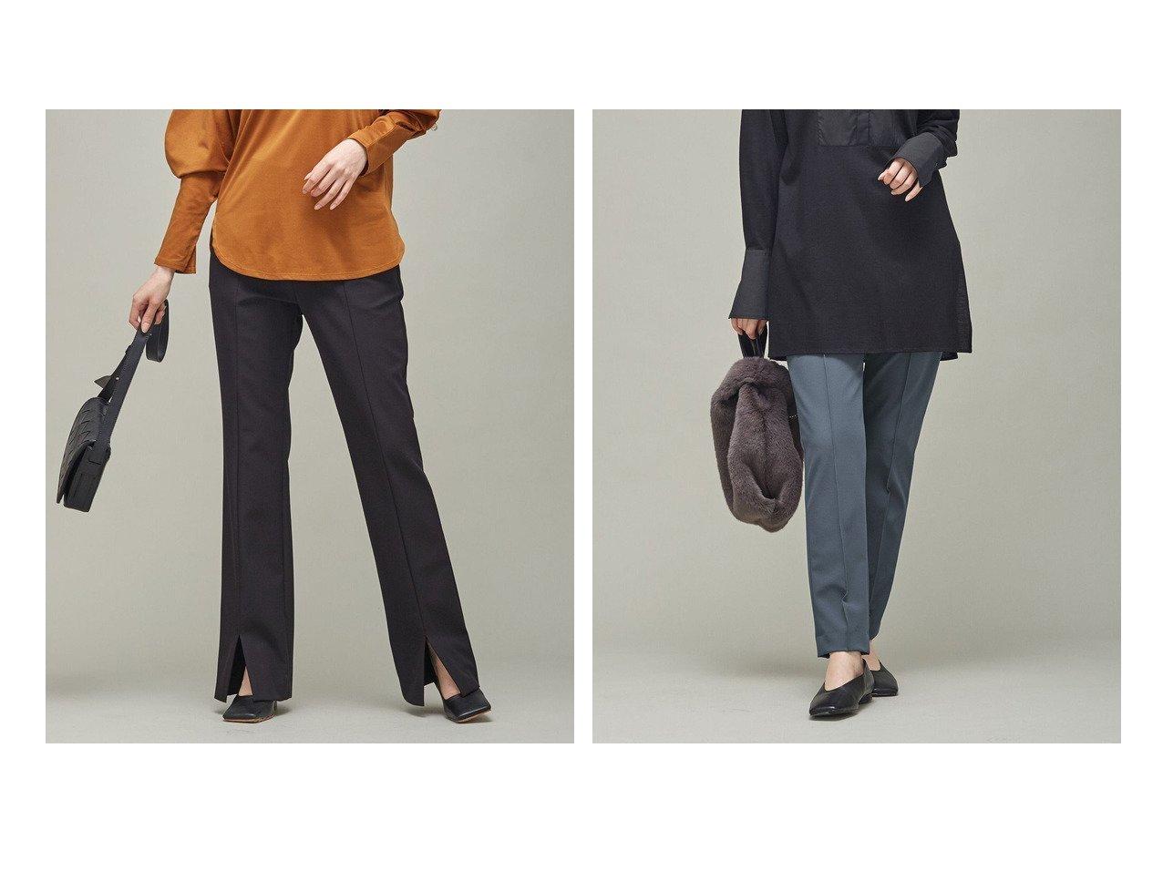 【iCB/アイシービー】のテックストレッチ スティックパンツ&テックストレッチ セミフレアパンツ 【パンツ】おすすめ!人気、トレンド・レディースファッションの通販 おすすめで人気の流行・トレンド、ファッションの通販商品 インテリア・家具・メンズファッション・キッズファッション・レディースファッション・服の通販 founy(ファニー) https://founy.com/ ファッション Fashion レディースファッション WOMEN パンツ Pants 送料無料 Free Shipping 2021年 2021 2021-2022秋冬・A/W AW・Autumn/Winter・FW・Fall-Winter・2021-2022 A/W・秋冬 AW・Autumn/Winter・FW・Fall-Winter ストレッチ スポーティ スリット トレンド フロント ペンシル  ID:crp329100000070569