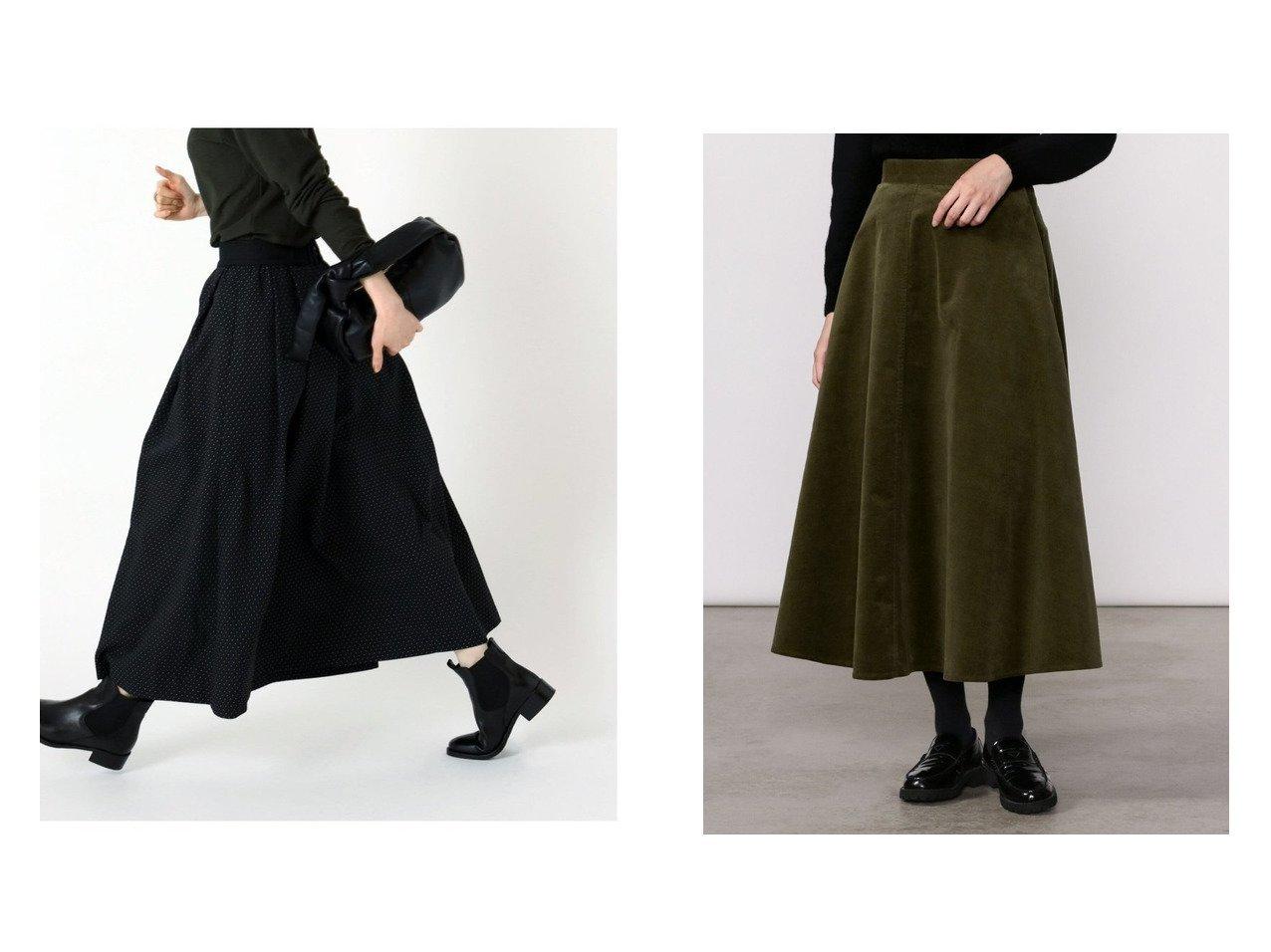 【Bshop/ビショップ】の【Gymphlex】コーデュロイ フレアスカート WOMEN&【IENA/イエナ】のDOT ジャガードタックスカート 【スカート】おすすめ!人気、トレンド・レディースファッションの通販 おすすめで人気の流行・トレンド、ファッションの通販商品 インテリア・家具・メンズファッション・キッズファッション・レディースファッション・服の通販 founy(ファニー) https://founy.com/ ファッション Fashion レディースファッション WOMEN スカート Skirt ロングスカート Long Skirt Aライン/フレアスカート Flared A-Line Skirts NEW・新作・新着・新入荷 New Arrivals 2021年 2021 2021-2022秋冬・A/W AW・Autumn/Winter・FW・Fall-Winter・2021-2022 A/W・秋冬 AW・Autumn/Winter・FW・Fall-Winter ギャザー ドット ロング 無地 コーデュロイ ストレッチ フレア ミモレ  ID:crp329100000070577