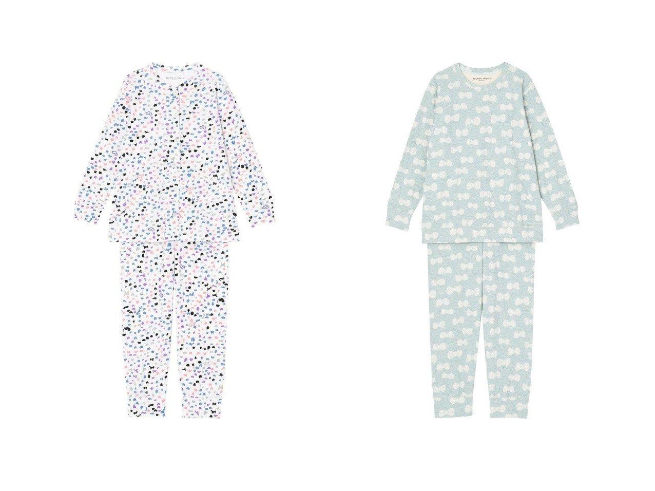 【tsumori chisato SLEEP/ツモリチサト スリープ】のパジャマ ロング袖ロングパンツ ネコやヒツジの水玉風ワコール UDX508&パジャマ ロング袖ロングパンツ リボンのモチーフワコール UDQ233 おすすめ!人気、トレンド・レディースファッションの通販 おすすめで人気の流行・トレンド、ファッションの通販商品 インテリア・家具・メンズファッション・キッズファッション・レディースファッション・服の通販 founy(ファニー) https://founy.com/ ファッション Fashion レディースファッション WOMEN パンツ Pants 送料無料 Free Shipping アンダー ネコ パジャマ ロング 水玉 秋 Autumn/Fall ジャカード モチーフ リボン |ID:crp329100000070613