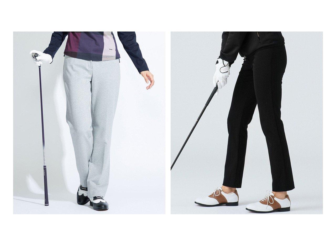 【DAKS GOLF/ダックス ゴルフ】の【WOMEN】ツイルジャージ パンツ&【WOMENS】コンパクトポンチ パンツ おすすめ!人気、トレンド・レディースファッションの通販 おすすめで人気の流行・トレンド、ファッションの通販商品 インテリア・家具・メンズファッション・キッズファッション・レディースファッション・服の通販 founy(ファニー) https://founy.com/ ファッション Fashion レディースファッション WOMEN パンツ Pants 送料無料 Free Shipping コンパクト ストレッチ ストレート 定番 Standard シンプル スリム |ID:crp329100000070619