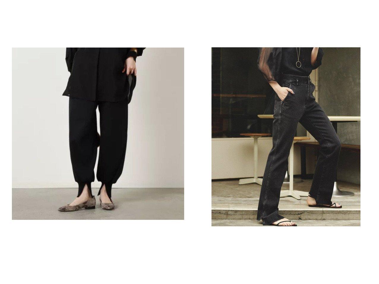 【Spick & Span/スピック&スパン】の【2】BEAUTY-LINE スリットデニム&【NOLLEY'S/ノーリーズ】の【SALT+ソルトプラスジャパン】ダンボールボリュームパンツ 【パンツ】おすすめ!人気、トレンド・レディースファッションの通販 おすすめで人気の流行・トレンド、ファッションの通販商品 インテリア・家具・メンズファッション・キッズファッション・レディースファッション・服の通販 founy(ファニー) https://founy.com/ ファッション Fashion レディースファッション WOMEN パンツ Pants NEW・新作・新着・新入荷 New Arrivals 2021年 2021 2021-2022秋冬・A/W AW・Autumn/Winter・FW・Fall-Winter・2021-2022 A/W・秋冬 AW・Autumn/Winter・FW・Fall-Winter ジーンズ スリット デニム リラックス おすすめ Recommend お家時間・ステイホーム Home Time/Stay Home |ID:crp329100000070653