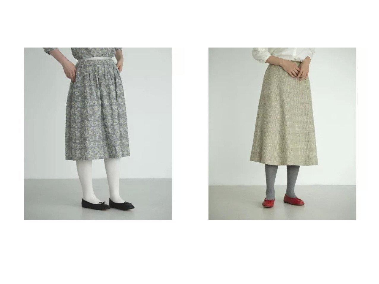 【Sally Scott/サリースコット】のLandolt スカート&Toning スカート 【スカート】おすすめ!人気、トレンド・レディースファッションの通販 おすすめで人気の流行・トレンド、ファッションの通販商品 インテリア・家具・メンズファッション・キッズファッション・レディースファッション・服の通販 founy(ファニー) https://founy.com/ ファッション Fashion レディースファッション WOMEN スカート Skirt ジャカード セットアップ フォルム ボーダー ポケット マキシ モチーフ ロング おすすめ Recommend イエロー クラシカル |ID:crp329100000070679