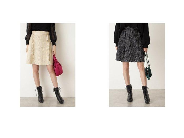 【JILL STUART/ジルスチュアート】のフィルツイードミニスカート 【スカート】おすすめ!人気、トレンド・レディースファッションの通販 おすすめ人気トレンドファッション通販アイテム 人気、トレンドファッション・服の通販 founy(ファニー) ファッション Fashion レディースファッション WOMEN スカート Skirt ミニスカート Mini Skirts 2021年 2021 2021-2022秋冬・A/W AW・Autumn/Winter・FW・Fall-Winter・2021-2022 A/W・秋冬 AW・Autumn/Winter・FW・Fall-Winter シンプル ツイード バランス フェミニン  ID:crp329100000070684