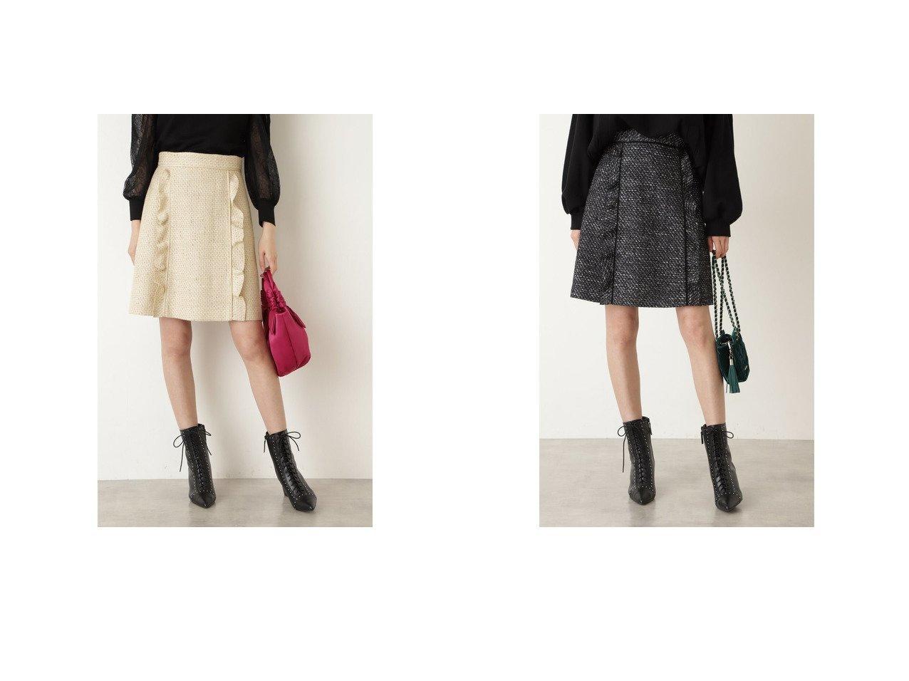 【JILL STUART/ジルスチュアート】のフィルツイードミニスカート 【スカート】おすすめ!人気、トレンド・レディースファッションの通販 おすすめで人気の流行・トレンド、ファッションの通販商品 インテリア・家具・メンズファッション・キッズファッション・レディースファッション・服の通販 founy(ファニー) https://founy.com/ ファッション Fashion レディースファッション WOMEN スカート Skirt ミニスカート Mini Skirts 2021年 2021 2021-2022秋冬・A/W AW・Autumn/Winter・FW・Fall-Winter・2021-2022 A/W・秋冬 AW・Autumn/Winter・FW・Fall-Winter シンプル ツイード バランス フェミニン |ID:crp329100000070684