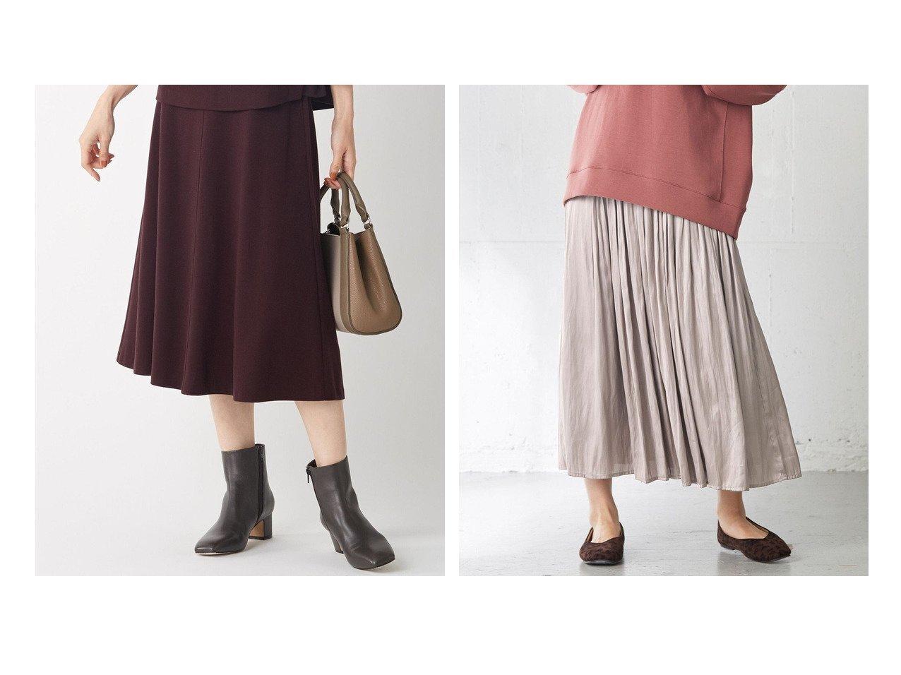 【any FAM/エニィファム】の【ウエストゴム】グロッシーギャザー スカート&【J.PRESS/ジェイ プレス】の【洗える】セルロースリバー スカート 【スカート】おすすめ!人気、トレンド・レディースファッションの通販 おすすめで人気の流行・トレンド、ファッションの通販商品 インテリア・家具・メンズファッション・キッズファッション・レディースファッション・服の通販 founy(ファニー) https://founy.com/ ファッション Fashion レディースファッション WOMEN スカート Skirt 送料無料 Free Shipping ギャザー 定番 Standard おすすめ Recommend フレア 洗える 秋 Autumn/Fall |ID:crp329100000070687