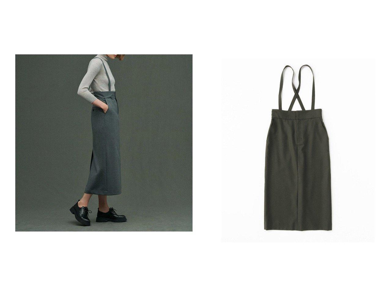 【uncrave/アンクレイヴ】のカレンダードツイル サスペンダー スカート 【スカート】おすすめ!人気、トレンド・レディースファッションの通販 おすすめで人気の流行・トレンド、ファッションの通販商品 インテリア・家具・メンズファッション・キッズファッション・レディースファッション・服の通販 founy(ファニー) https://founy.com/ ファッション Fashion レディースファッション WOMEN スカート Skirt サスペンダー シューズ ストレッチ 雑誌 タイトスカート バランス フォーマル ペンシル 冬 Winter 送料無料 Free Shipping |ID:crp329100000070688