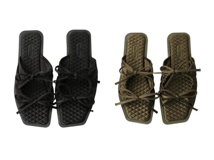 【Chaos/カオス】の【CARLOTHA RAY】 Sandal2 【シューズ・靴】おすすめ!人気、トレンド・レディースファッションの通販 おすすめ人気トレンドファッション通販アイテム インテリア・キッズ・メンズ・レディースファッション・服の通販 founy(ファニー) https://founy.com/ ファッション Fashion レディースファッション WOMEN なめらか サンダル シルク フラット |ID:crp329100000070692