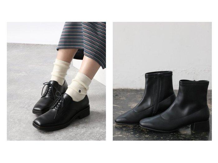 【GLOBAL WORK/グローバルワーク】のラクッションハッスイLH&【JEANASiS/ジーナシス】のSトゥブラッチャーシューズ 【シューズ・靴】おすすめ!人気、トレンド・レディースファッションの通販 おすすめ人気トレンドファッション通販アイテム 人気、トレンドファッション・服の通販 founy(ファニー) ファッション Fashion レディースファッション WOMEN NEW・新作・新着・新入荷 New Arrivals シューズ ソックス ドレス フィット フェイクレザー ボトム マニッシュ ワイド 定番 Standard 抗菌  ID:crp329100000070703