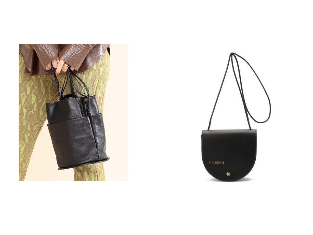 【Ray BEAMS/レイ ビームス】のRound Bottom バッグ&【IL BISONTE/イル ビゾンテ】のクロスボディバッグ 【バッグ・鞄】おすすめ!人気、トレンド・レディースファッションの通販 おすすめで人気の流行・トレンド、ファッションの通販商品 インテリア・家具・メンズファッション・キッズファッション・レディースファッション・服の通販 founy(ファニー) https://founy.com/ ファッション Fashion レディースファッション WOMEN バッグ Bag ショルダー シンプル スマート モダン ワンポイント ポケット 日本製 Made in Japan  ID:crp329100000070724