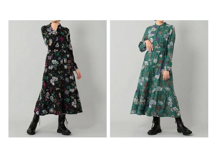 【GRACE CONTINENTAL/グレース コンチネンタル】のフローラル刺繍シャツワンピース 【ワンピース・ドレス】おすすめ!人気、トレンド・レディースファッションの通販 おすすめ人気トレンドファッション通販アイテム 人気、トレンドファッション・服の通販 founy(ファニー)  ファッション Fashion レディースファッション WOMEN ワンピース Dress シャツワンピース Shirt Dresses 送料無料 Free Shipping ティアード フェミニン |ID:crp329100000070793