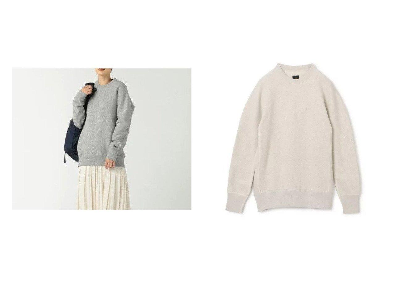 【SCYE BASICS/サイ ベーシックス】のFleece Back Jersey Sweat Shirt 【トップス・カットソー】おすすめ!人気、トレンド・レディースファッションの通販 おすすめで人気の流行・トレンド、ファッションの通販商品 インテリア・家具・メンズファッション・キッズファッション・レディースファッション・服の通販 founy(ファニー) https://founy.com/ ファッション Fashion レディースファッション WOMEN トップス・カットソー Tops/Tshirt シャツ/ブラウス Shirts/Blouses パーカ Sweats ロング / Tシャツ T-Shirts スウェット Sweat カッティング スウェット フィット メランジ ヴィンテージ 手編み 長袖 |ID:crp329100000070919