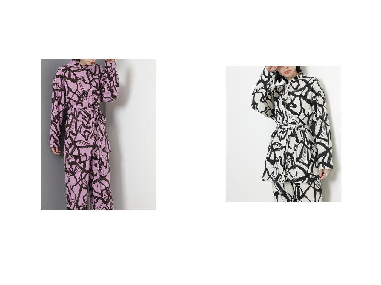 【ROSE BUD/ローズバッド】のバンドカラーシャツ 【トップス・カットソー】おすすめ!人気、トレンド・レディースファッションの通販 おすすめで人気の流行・トレンド、ファッションの通販商品 インテリア・家具・メンズファッション・キッズファッション・レディースファッション・服の通販 founy(ファニー) https://founy.com/ ファッション Fashion レディースファッション WOMEN トップス・カットソー Tops/Tshirt シャツ/ブラウス Shirts/Blouses 2021年 2021 2021-2022秋冬・A/W AW・Autumn/Winter・FW・Fall-Winter・2021-2022 A/W・秋冬 AW・Autumn/Winter・FW・Fall-Winter おすすめ Recommend カフス スリット セットアップ チュニック プリント |ID:crp329100000070921