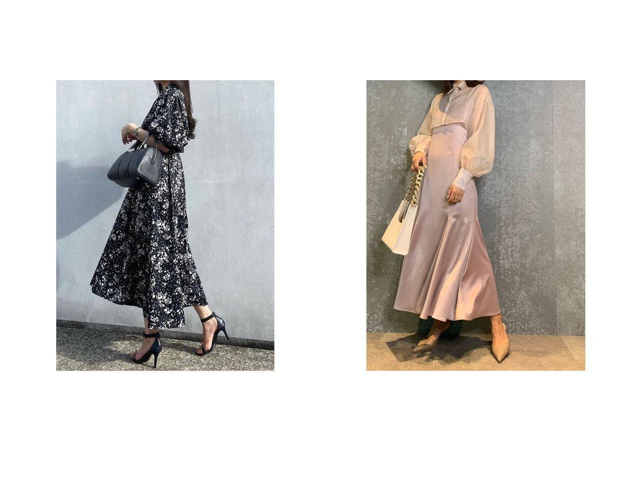 【eimy istoire/エイミーイストワール】のシアーシャツセットキャミワンピース&【anuans/アニュアンス】の2wayランダムドットワンピース おすすめ!人気、トレンド・レディースファッションの通販 おすすめで人気の流行・トレンド、ファッションの通販商品 インテリア・家具・メンズファッション・キッズファッション・レディースファッション・服の通販 founy(ファニー) https://founy.com/ ファッション Fashion レディースファッション WOMEN ワンピース Dress キャミワンピース No Sleeve Dresses おすすめ Recommend スタンド ドット ベーシック ランダム インナー キャミワンピース クラシック サテン ショート マーメイド  ID:crp329100000071027