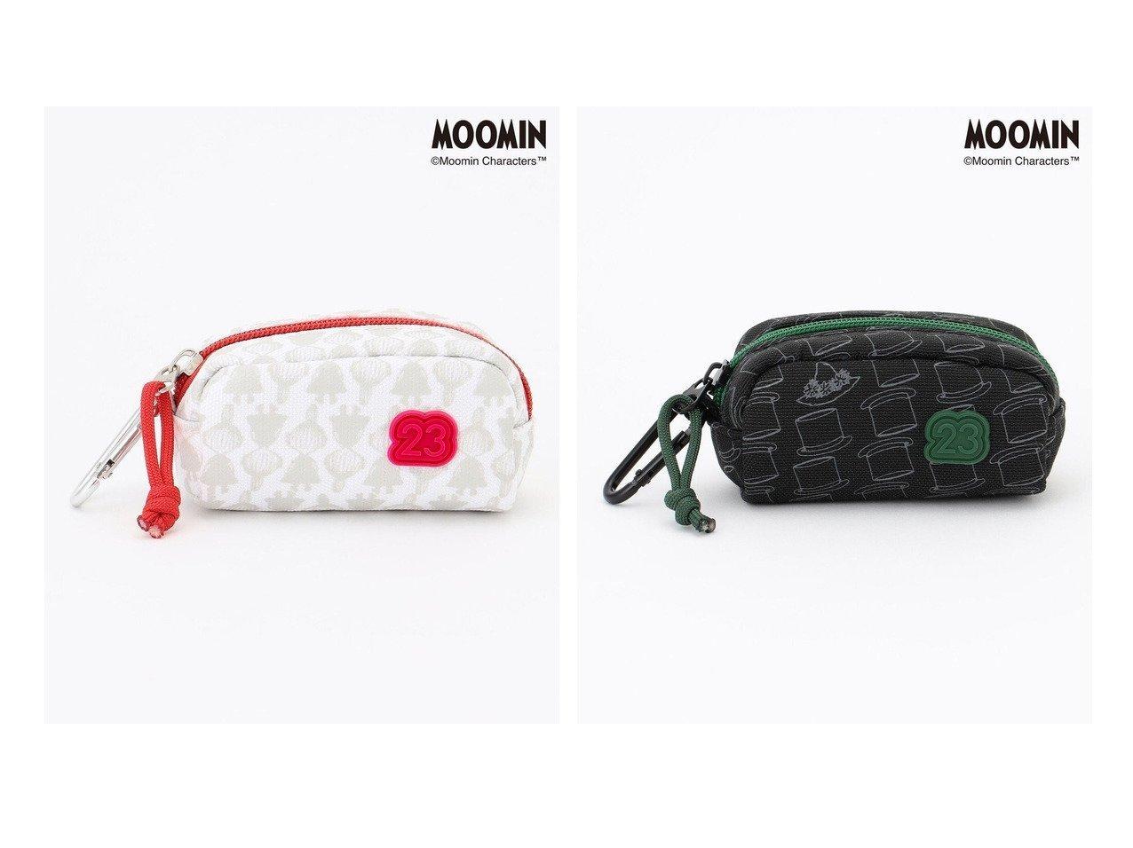 【NIJYUSANKU GOLF/23区 ゴルフ】の【MOOMIN】【UNISEX】ムーミンコラボ ボールポーチ おすすめ!人気、トレンド・レディースファッションの通販 おすすめで人気の流行・トレンド、ファッションの通販商品 インテリア・家具・メンズファッション・キッズファッション・レディースファッション・服の通販 founy(ファニー) https://founy.com/ ファッション Fashion レディースファッション WOMEN ポーチ Pouches スポーツウェア Sportswear スポーツ バッグ/ポーチ Bag スポーツグッズ Sporting Goods 送料無料 Free Shipping UNISEX シリコン スポーツ フォルム ポーチ  ID:crp329100000071049
