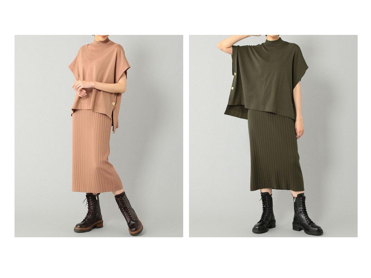 【GRACE CONTINENTAL/グレース コンチネンタル】のポンチョ付ニットワンピース おすすめ!人気、トレンド・レディースファッションの通販 おすすめで人気の流行・トレンド、ファッションの通販商品 インテリア・家具・メンズファッション・キッズファッション・レディースファッション・服の通販 founy(ファニー) https://founy.com/ ファッション Fashion レディースファッション WOMEN アウター Coat Outerwear ポンチョ Ponchos ワンピース Dress ニットワンピース Knit Dresses 送料無料 Free Shipping ストレート ノースリーブ ベスト ポンチョ メタル ルーズ  ID:crp329100000071054