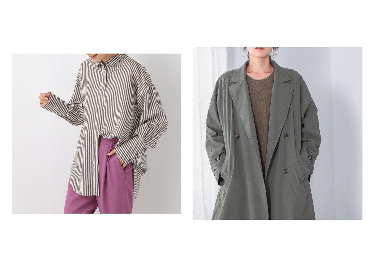 【LEPSIM LOWRYS FARM/レプシィム ローリーズファーム】のシルクコンアラエルSH&ハッスイロングテーラーコート おすすめ!人気、トレンド・レディースファッションの通販 おすすめで人気の流行・トレンド、ファッションの通販商品 インテリア・家具・メンズファッション・キッズファッション・レディースファッション・服の通販 founy(ファニー) https://founy.com/ ファッション Fashion レディースファッション WOMEN アウター Coat Outerwear コート Coats ジャケット Jackets トップス・カットソー Tops/Tshirt シャツ/ブラウス Shirts/Blouses NEW・新作・新着・新入荷 New Arrivals シンプル ジャケット トレンド ロング ストライプ 長袖 |ID:crp329100000071067