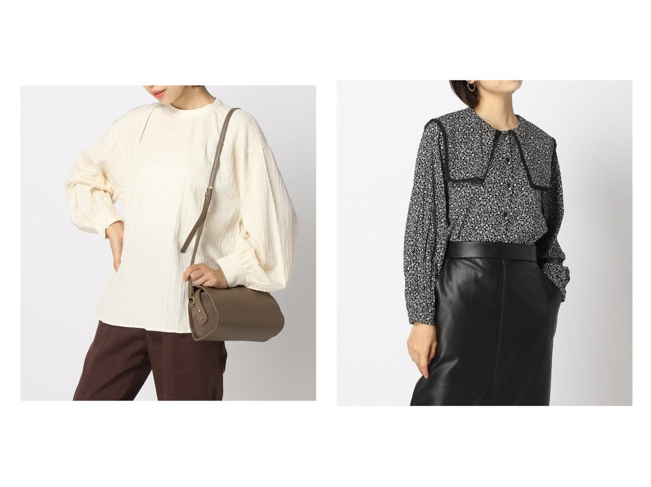 【GLOBAL WORK/グローバルワーク】のストライプJQDソデフワBL&スクエアBIGカラーブラウス おすすめ!人気、トレンド・レディースファッションの通販 おすすめで人気の流行・トレンド、ファッションの通販商品 インテリア・家具・メンズファッション・キッズファッション・レディースファッション・服の通販 founy(ファニー) https://founy.com/ ファッション Fashion レディースファッション WOMEN トップス・カットソー Tops/Tshirt シャツ/ブラウス Shirts/Blouses NEW・新作・新着・新入荷 New Arrivals インナー スクエア デニム トレンド トレーナー レース 長袖 |ID:crp329100000071069