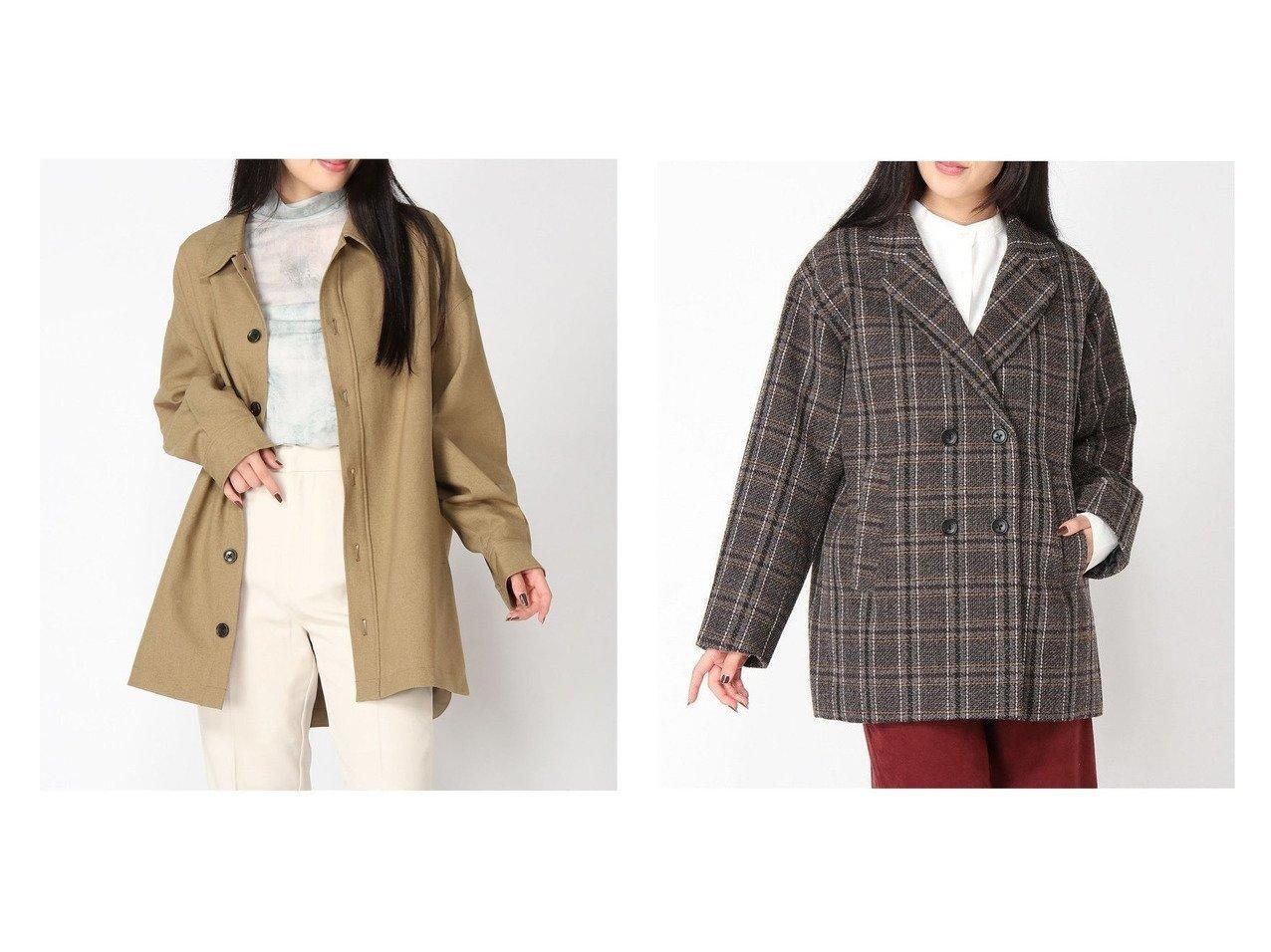 【LOWRYS FARM/ローリーズファーム】のメランジツイルウシロタックJK&ツィードチェックダブルJK おすすめ!人気、トレンド・レディースファッションの通販 おすすめで人気の流行・トレンド、ファッションの通販商品 インテリア・家具・メンズファッション・キッズファッション・レディースファッション・服の通販 founy(ファニー) https://founy.com/ ファッション Fashion レディースファッション WOMEN アウター Coat Outerwear コート Coats ジャケット Jackets NEW・新作・新着・新入荷 New Arrivals インナー ジャケット ダウン ダブル チェック ツイード デニム ハイネック ボトム ヴィンテージ 秋 Autumn/Fall |ID:crp329100000071073