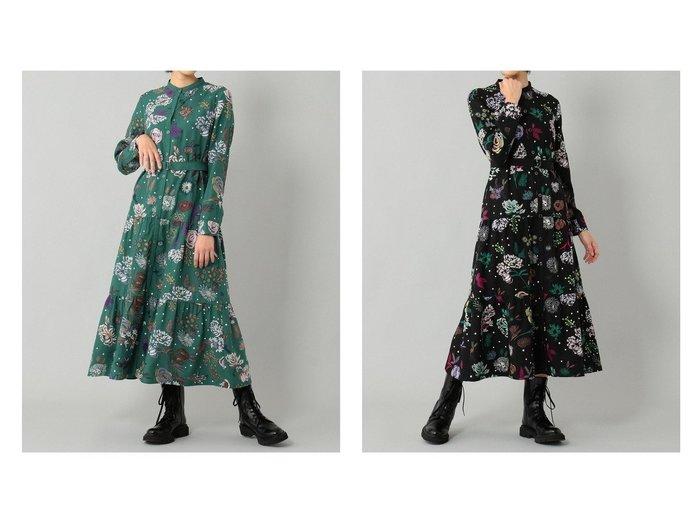 【GRACE CONTINENTAL/グレース コンチネンタル】のフローラル刺繍シャツワンピース おすすめ!人気、トレンド・レディースファッションの通販 おすすめ人気トレンドファッション通販アイテム 人気、トレンドファッション・服の通販 founy(ファニー)  ファッション Fashion レディースファッション WOMEN ワンピース Dress シャツワンピース Shirt Dresses NEW・新作・新着・新入荷 New Arrivals ティアード フェミニン |ID:crp329100000071082