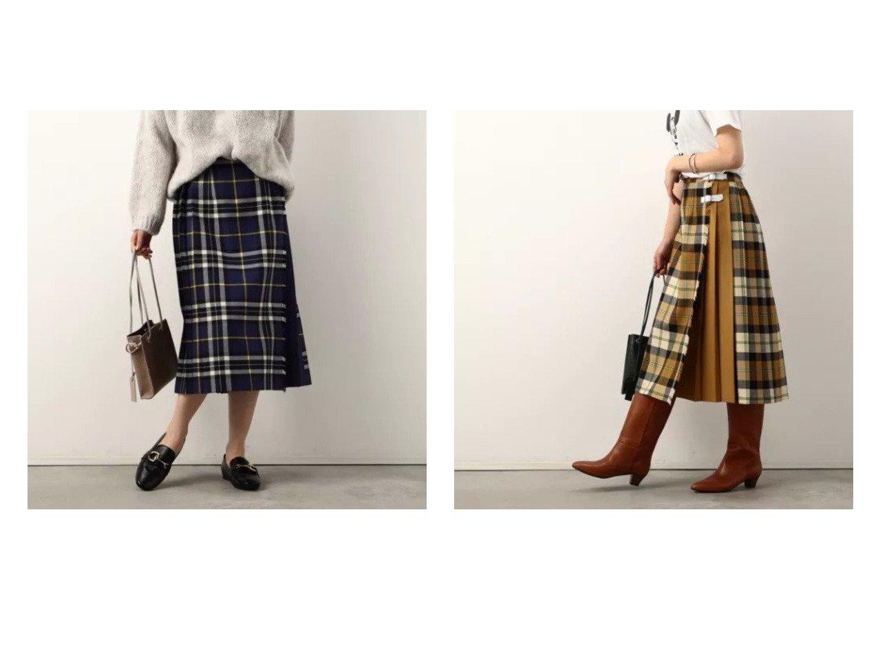 【NOLLEY'S/ノーリーズ】の【オニールオブダブリン】トリプル別注キルトスカート 別注・限定・コラボなど、おすすめ!人気、トレンド・レディースファッションの通販 おすすめで人気の流行・トレンド、ファッションの通販商品 インテリア・家具・メンズファッション・キッズファッション・レディースファッション・服の通販 founy(ファニー) https://founy.com/ ファッション Fashion レディースファッション WOMEN スカート Skirt おすすめ Recommend オレンジ キルト コラボ シューズ チェック トリプル フラット ロング 人気 別注 無地  ID:crp329100000071121