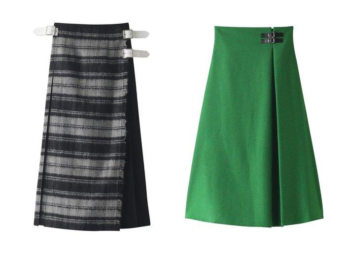 【Whim Gazette/ウィムガゼット】の【O NEIL of DUBLIN】PATCHWORK KILT スカート&【O NEIL of DUBLIN】A-LINE BUCKLE スカート 【スカート】おすすめ!人気、トレンド・レディースファッションの通販 おすすめ人気トレンドファッション通販アイテム 人気、トレンドファッション・服の通販 founy(ファニー) ファッション Fashion レディースファッション WOMEN スカート Skirt ロングスカート Long Skirt おすすめ Recommend シンプル ファブリック ロング |ID:crp329100000071176