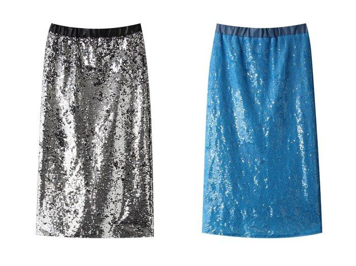 【MAISON SPECIAL/メゾンスペシャル】のスパンコールタイトスカート 【スカート】おすすめ!人気、トレンド・レディースファッションの通販 おすすめ人気トレンドファッション通販アイテム インテリア・キッズ・メンズ・レディースファッション・服の通販 founy(ファニー) https://founy.com/ ファッション Fashion レディースファッション WOMEN スカート Skirt シルバー スパンコール タイトスカート チェック パーティ モノトーン |ID:crp329100000071179